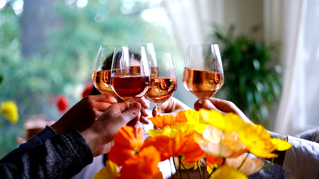 Monterey Rosé for your spring brunch