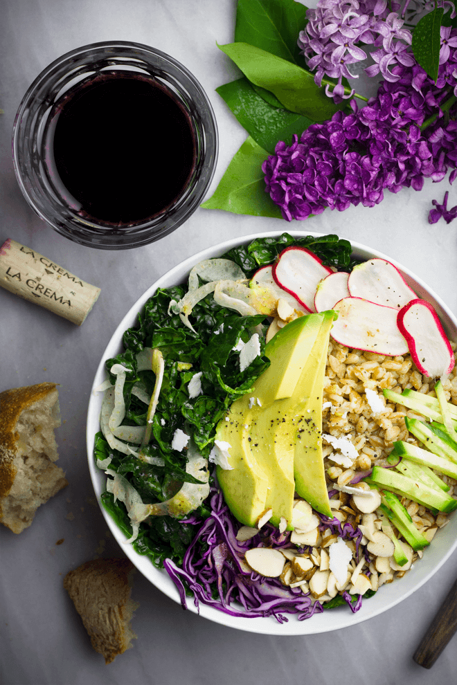 Spring Recipes Roundup: Spring Grain Bowl