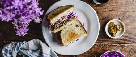 Steak Sandwich with Basil Mayo hero image