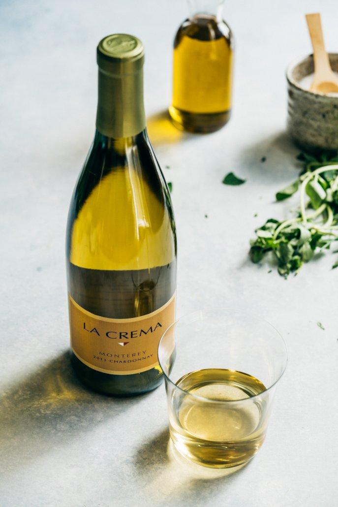 La Crema Monterey Chardonnay to pair with Seafood Skewers