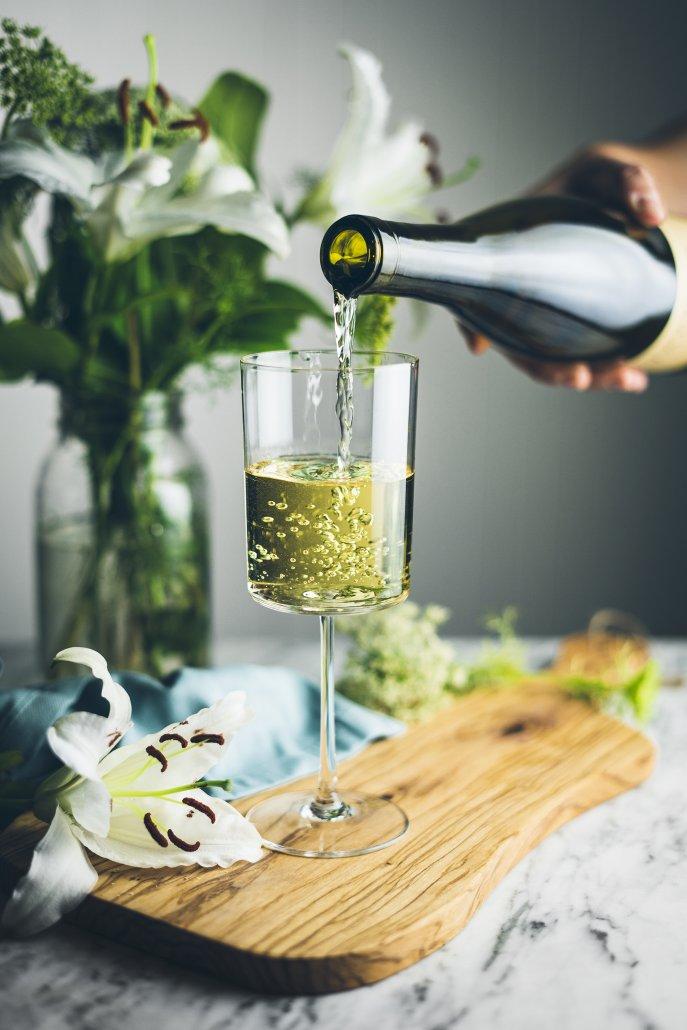 Enjoy La Crema's Monterey Chardonnay with this Summer Zucchini Salad