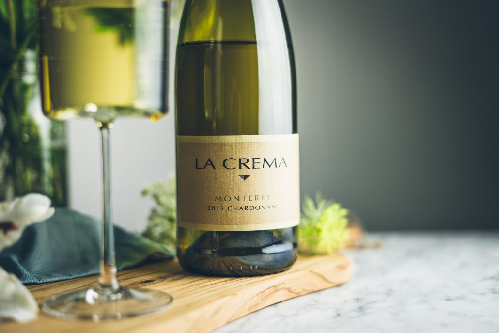 La Crema's Monterey Chardonnay to pair with a Summer Zucchini Salad