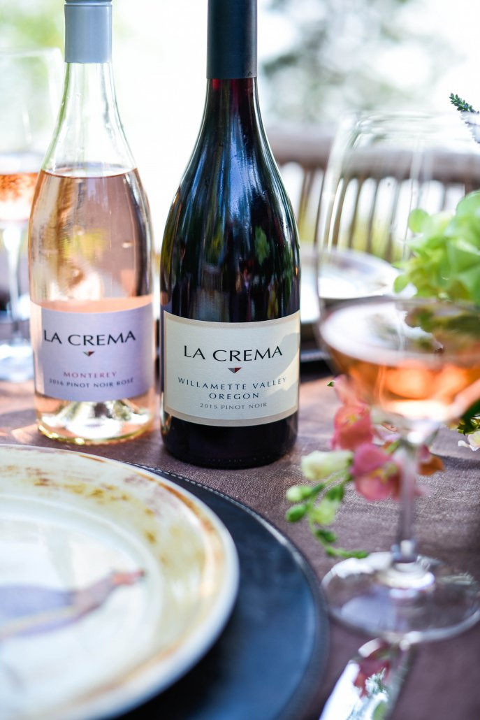 La Crema Wines for a Woodland Dinner Party