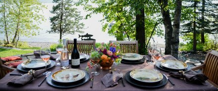 Entertaining with La Crema: Woodland Dinner Party