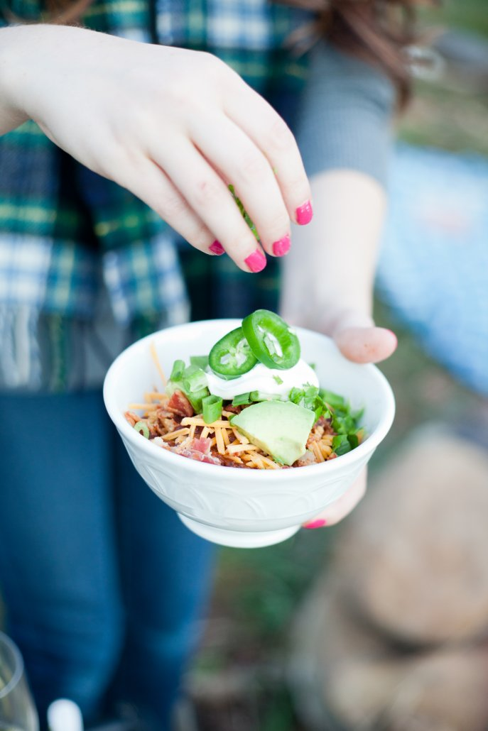 Flavors of Fall: Turkey Chili on a Campfire
