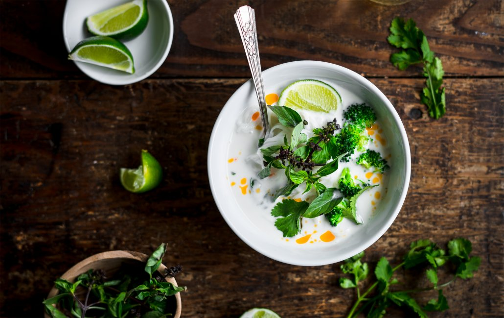 Flavors of Fall: Thai Coconut Vegetable Soup