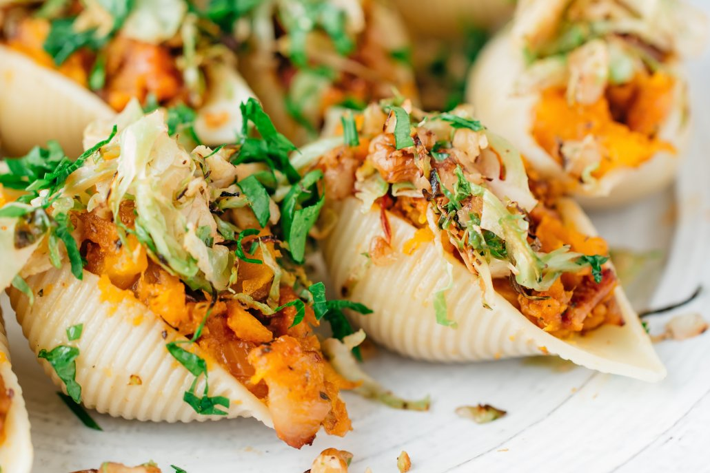Flavors of Fall: Roasted Squash Conchiglie