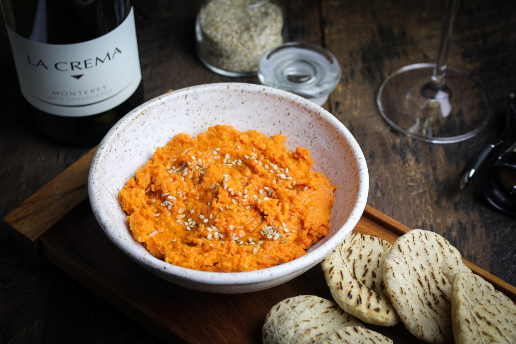 Moroccan Dinner: Spiced Carrot Dip