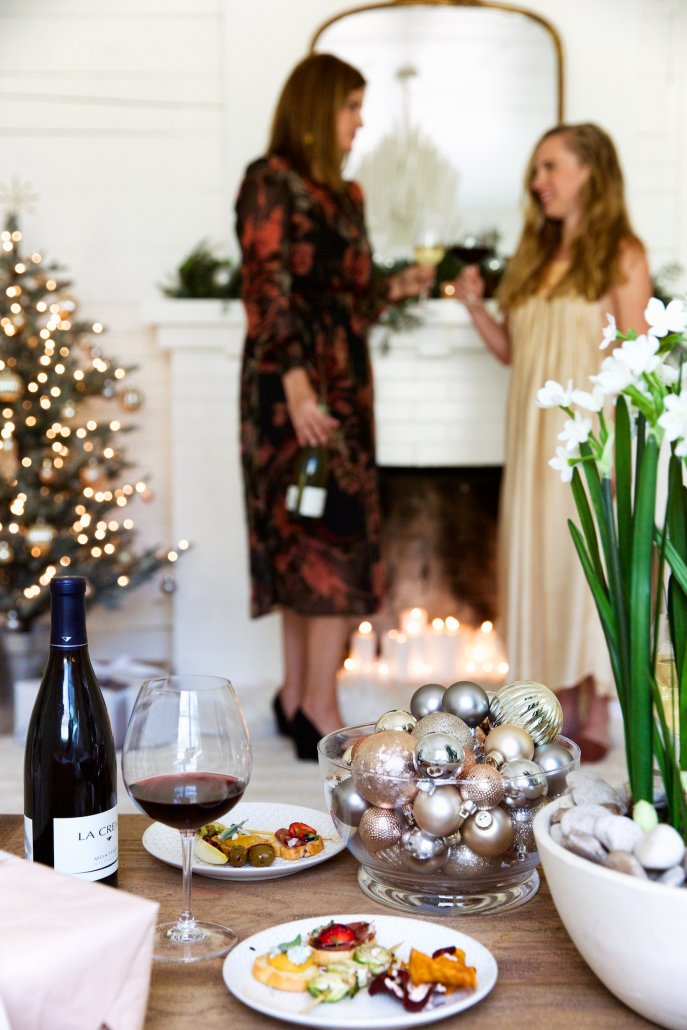 How to pull off a holiday party in under an hour with Camille Styles