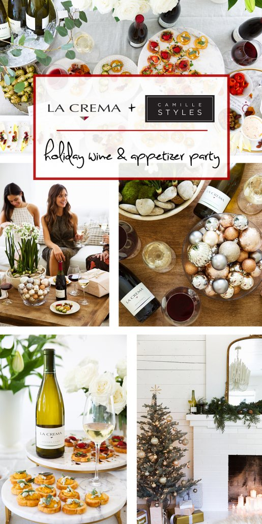 Pull off a holiday party in under an hour with Camille Styles