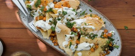 Chipotle Butternut Squash Crepes hero image