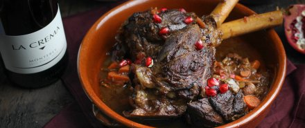 Moroccan Dinner: Moroccan Braised Lamb Shanks