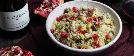 Moroccan Dinner: Royal Couscous with Apricots and Pistachios