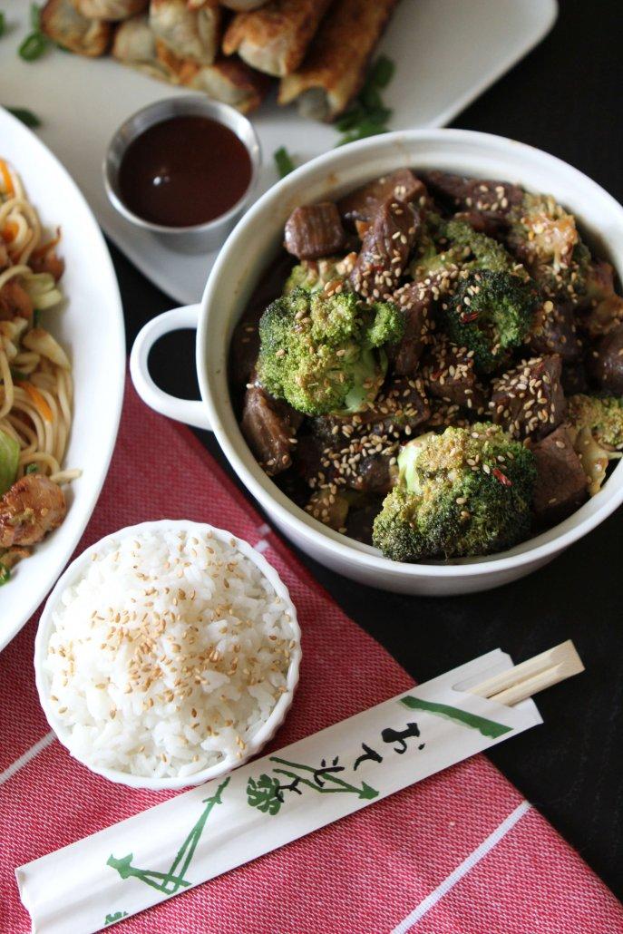 Broccoli Beef - Chinese Food for Christmas