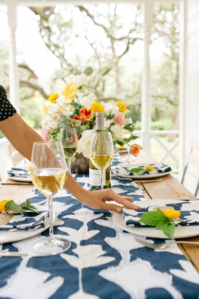 Spring Entertaining Styling