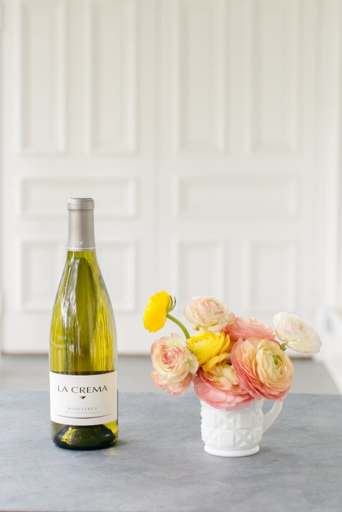 Spring Entertaining - Chardonnay and Ranunculus
