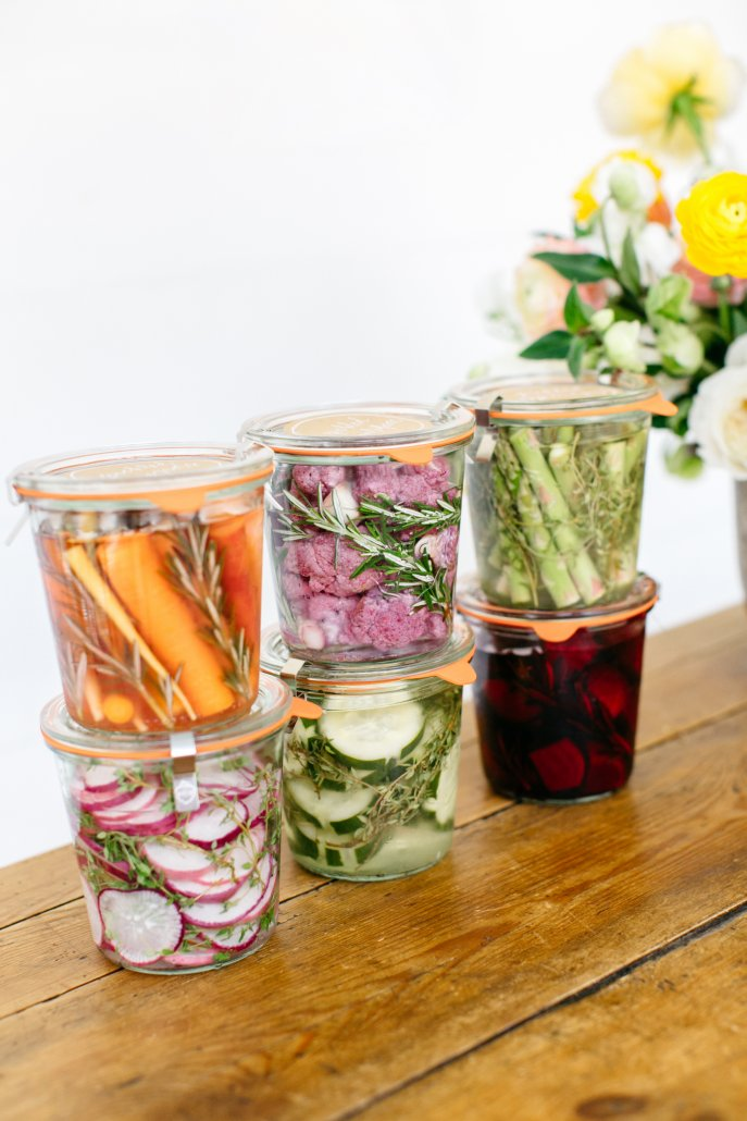 Spring Entertaining - DIY Pickles
