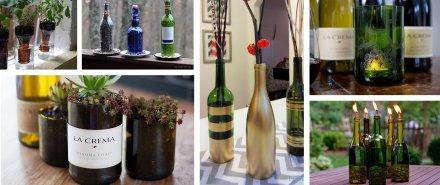 DIY Wine Bottle Decor: 9 Ways to Upcycle Empty Bottles