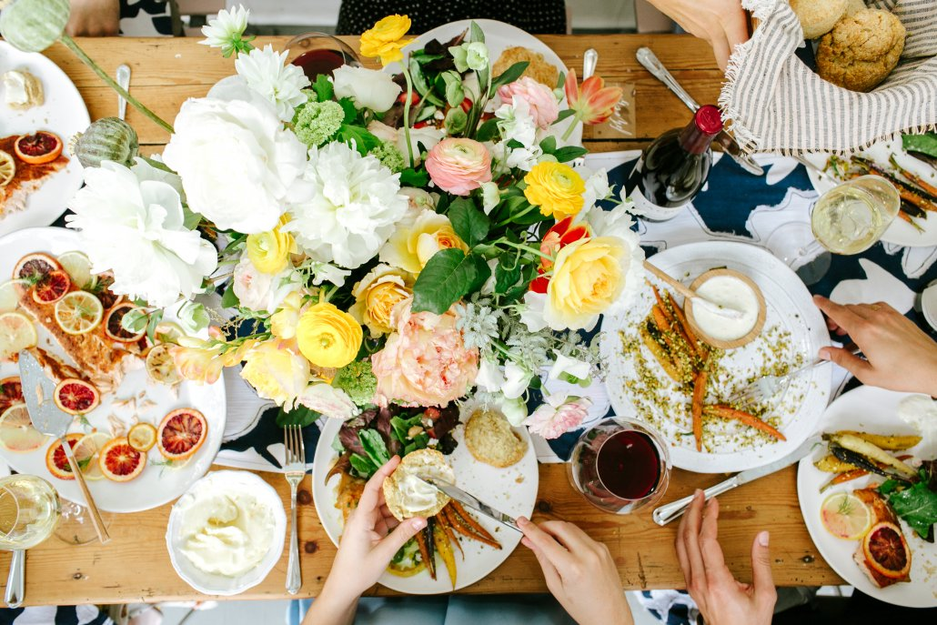 Spring Entertaining with Camille Styles