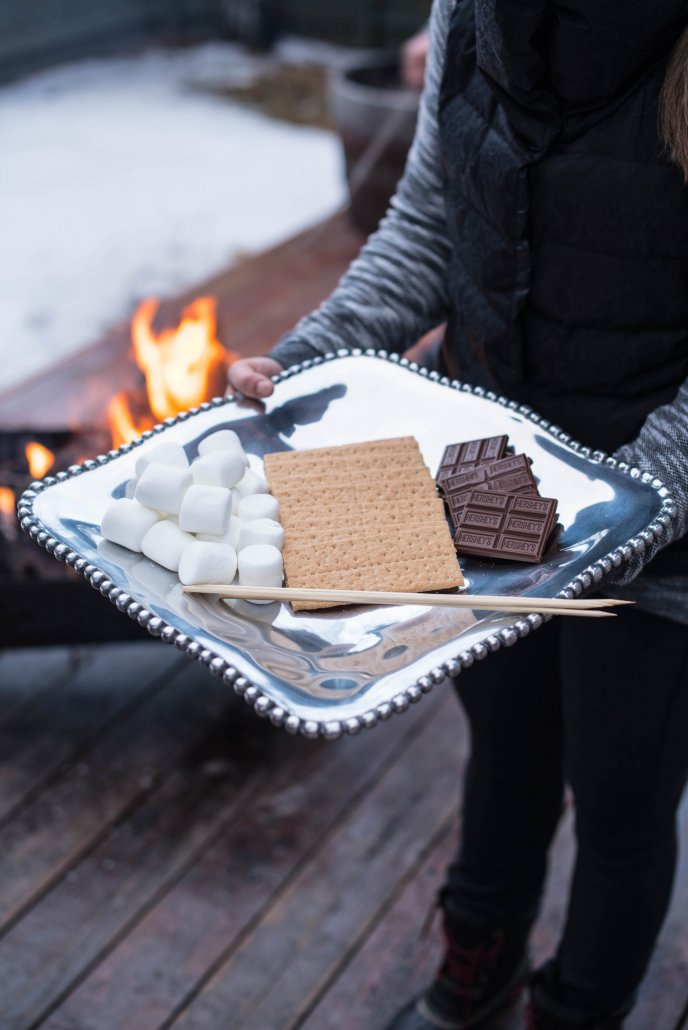 S'mores for an Après Ski Party