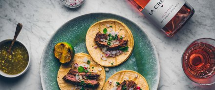 Citrus-Marinated Carne Asada Tacos hero image