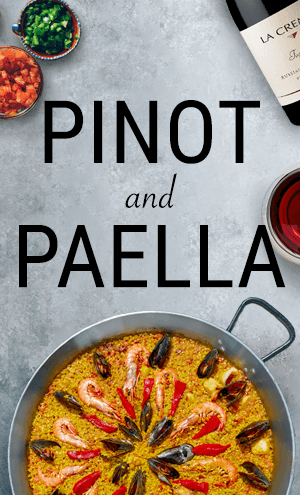 Pinot and Paella
