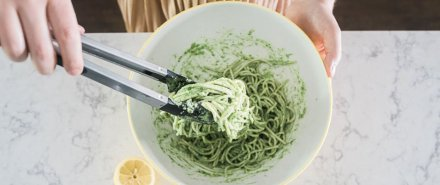 Pasta with Pesto hero image