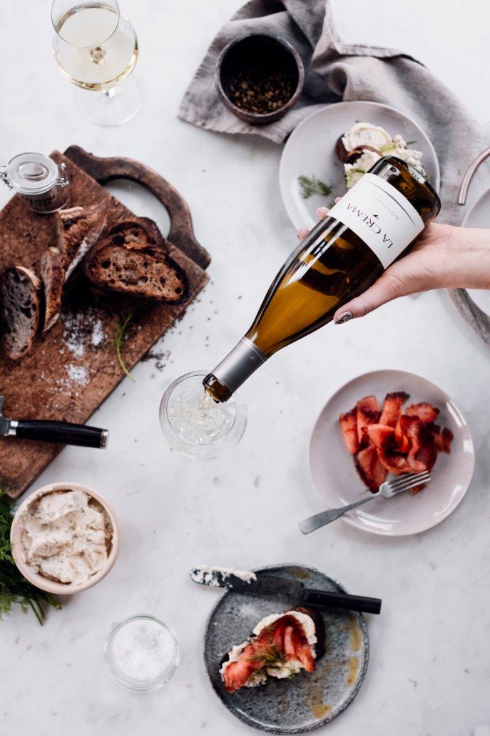 New Year's Eve Holiday White Wine Recipe Pairing