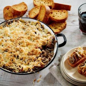 Wine Tips Pairing with Mushroom Dip